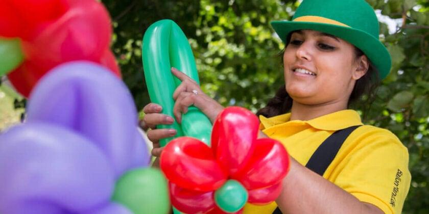 Få piftet festen op med balloner