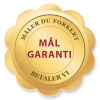 TotalGaranti fra Gardinshoppen.dk