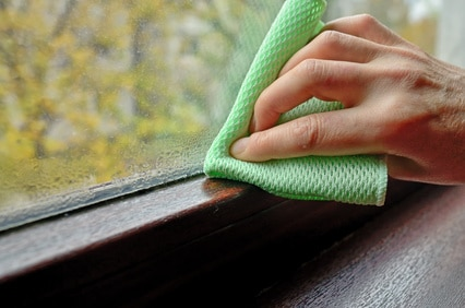 Dug på vinduerne