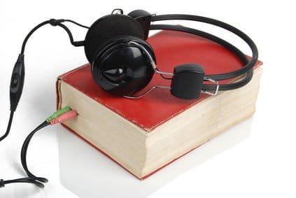 Lydbog med headset