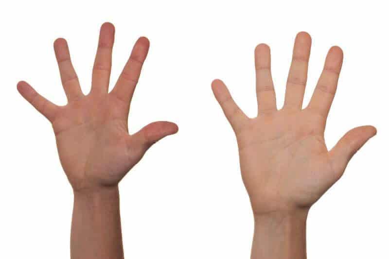 Rene hænder