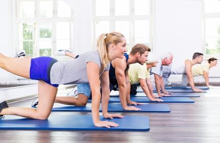 Fitness er godt når du skal have noget motion
